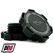 RCM Black Billet Oil Filler Cap